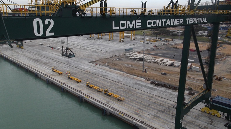 Lome container terminal, Togo