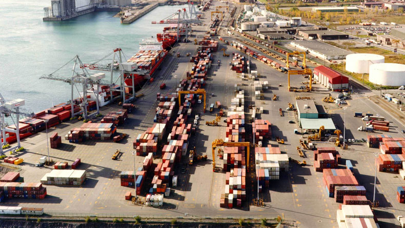 Racine terminal at port of Montreal
