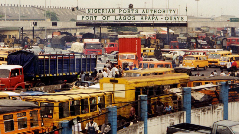 Nigeria Lagos Port Entrance