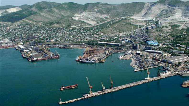 The Russian port of Novorossiysk