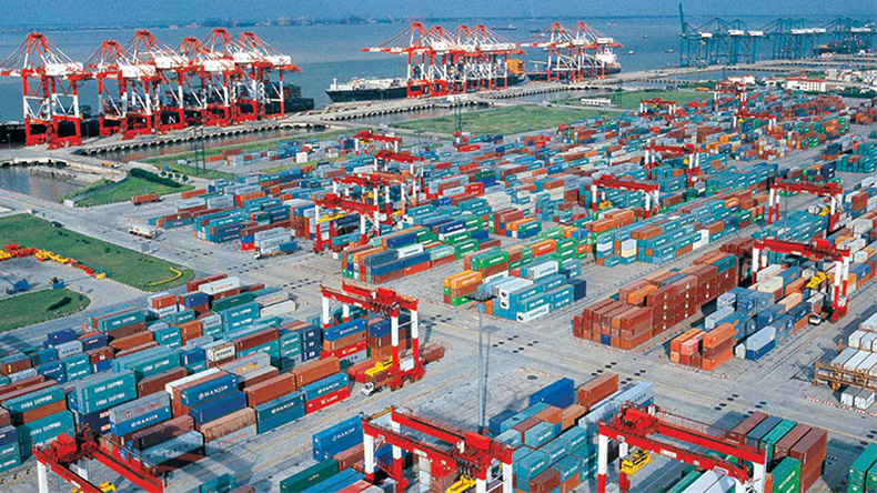 Shanghai container port