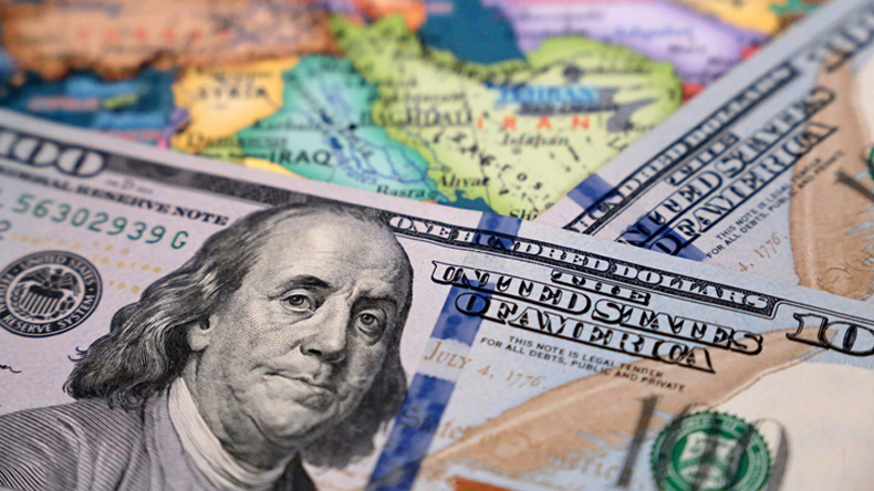 US sanctions and Iraq concept image. Credit:  Oleg Elkov/ iStock / Getty Images Plus