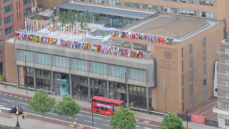 IMO headquarters in London