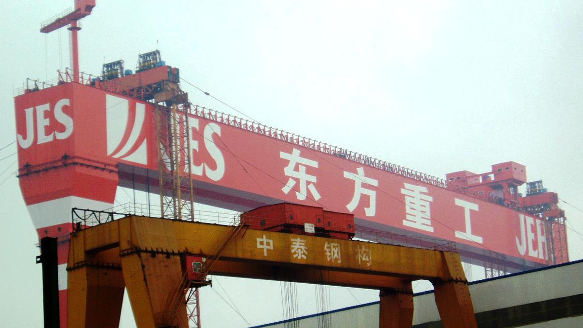 JES International shipyard