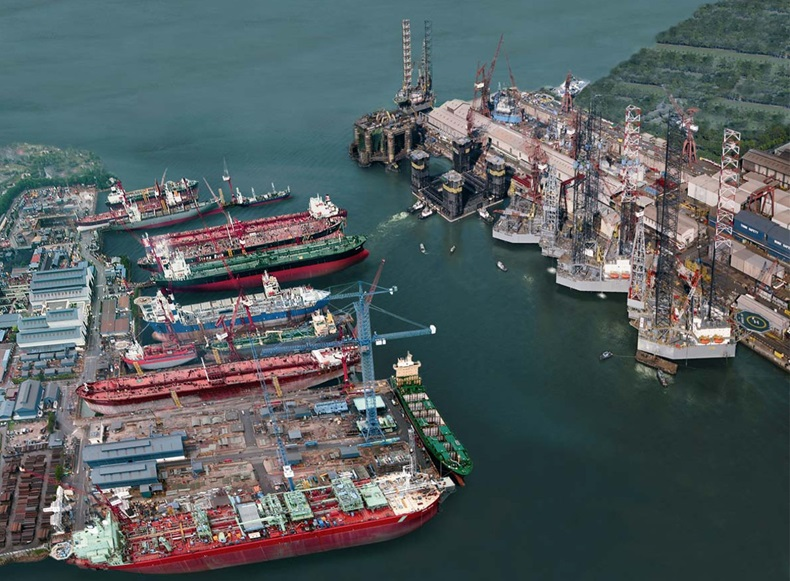 Keppel Offshore & Marine shipyards