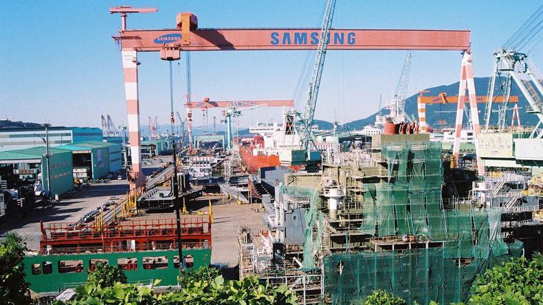 Samsung Heavy Industries Koje yard
