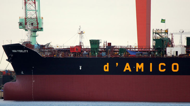d'Amico product tanker High Fidelity