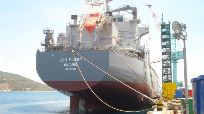 The 39,200 dwt handysize MR1 product/chemical tanker Eco Fleet when owned by Top Ships