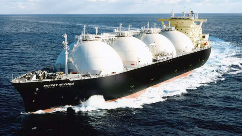 MOL LNG carrier Energy Advance