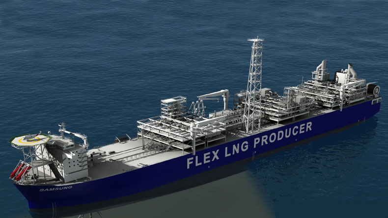 Computer image of Flex LNG newbuilding due later in 2018