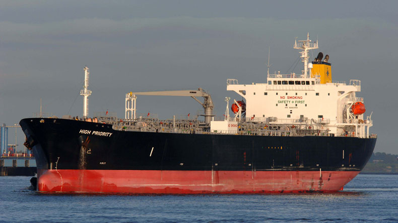 The product tanker High Priority