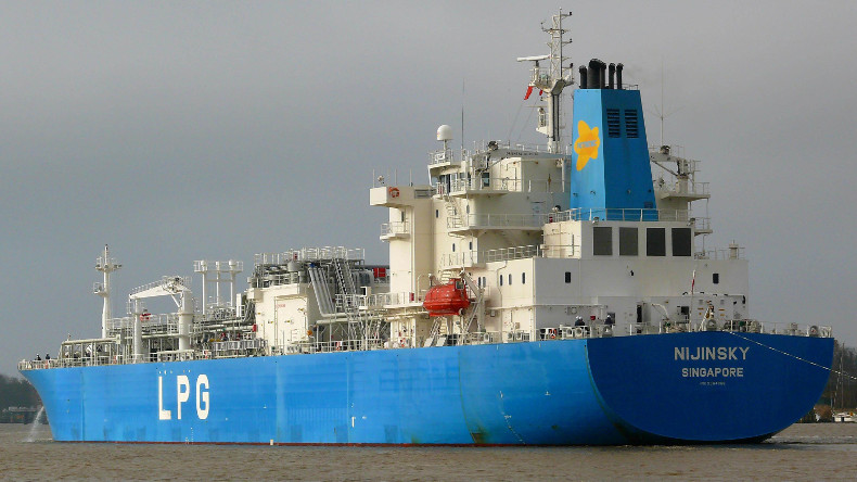 Nijinsky LPG handysize carrier owned by Petredec