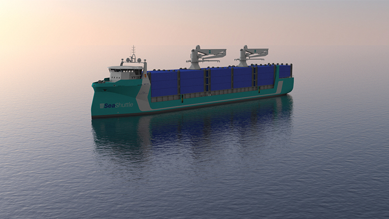 The Samskip-led SeaShuttle project is looking at a hydrogen fuel cell-powered container vessel to run between Poland, Sweden and Norway.