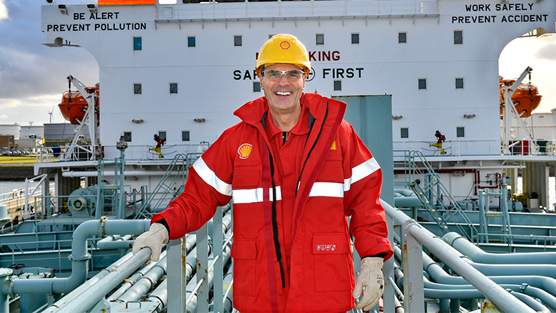 Grahaeme Henderson, vice-president, shipping and maritime, Shell