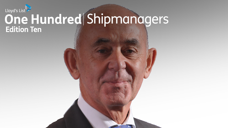 Top 10 shipmanagers 2019: Peter Cremers, executive chairman, Anglo Eastern-Univan Group