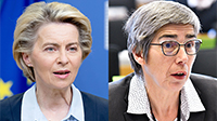 Ursula von der Leyen, European Commission and Jutta Paulus, European Parliament