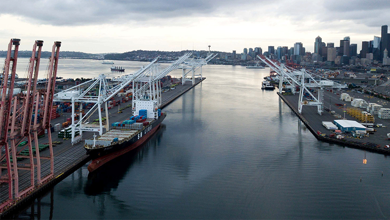Seattle is part of the Northwest Seaport Alliance