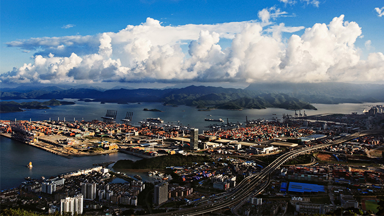Shenzhen, China (Yantian container terminals)
