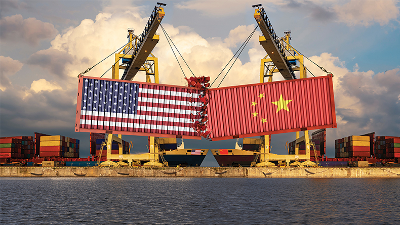 Containers US China trade war