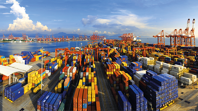 Shenzhen, China: Chiwan Container Terminal
