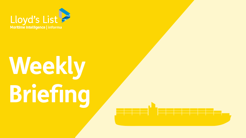 Weekly briefing: containers
