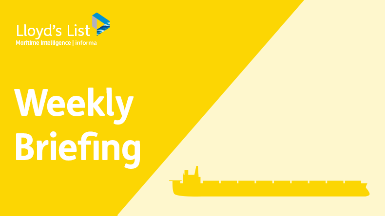 Weekly briefing: dry bulk