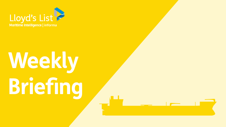 Weekly briefing: tankers