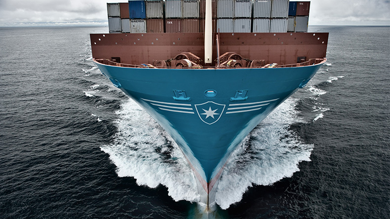 Maersk bow
