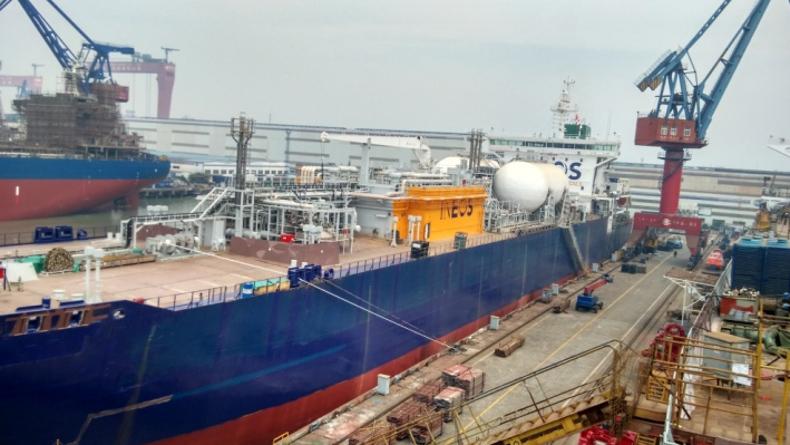 Sinopacific Offshore shipyard